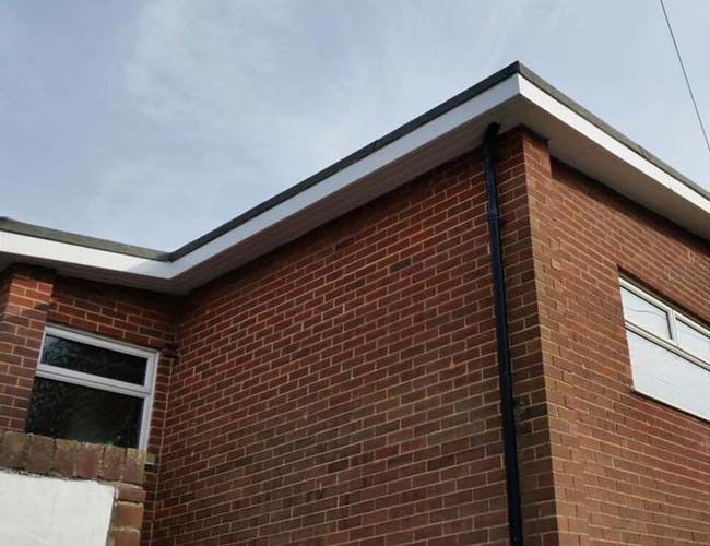 Fascia installation by professionals